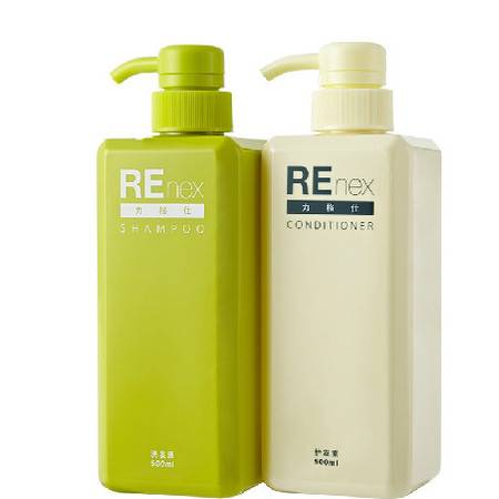 REnex力格仕 植物滋养两件套500ml产后洗护套装 无硅弱酸性配方