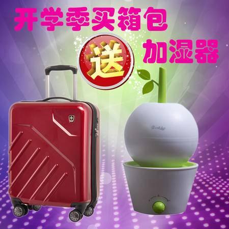 瑞动SWISSMOBILITY 20寸 时尚超轻大容量PC+ABS登机箱旅行箱MT-5551-01T