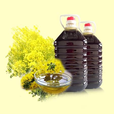 新余观光纯天然浓香菜籽油农家自榨菜籽油食用油菜油 3斤装