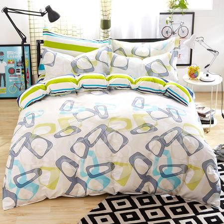 约克罗兰高支全棉床上用品四件套--艾格 包邮