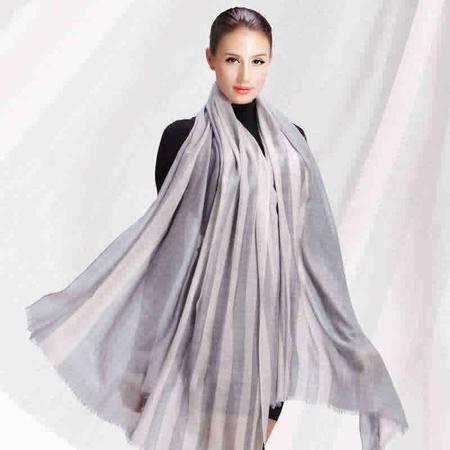 唐帛 秋冬新品女士山羊绒戒指绒长款围巾披肩(162100260)包邮