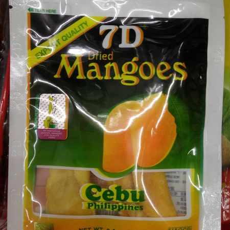 包邮 菲律宾进口 7D芒果干10*100g 东南亚特产 休闲零食