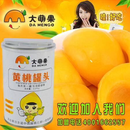 砀山特产 兴达大萌果黄桃罐头精品销售12罐全国包邮120元