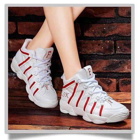 百年纪念1066新款运动鞋网面跑步鞋子时尚高帮鞋女鞋透气休闲鞋韩版女单鞋