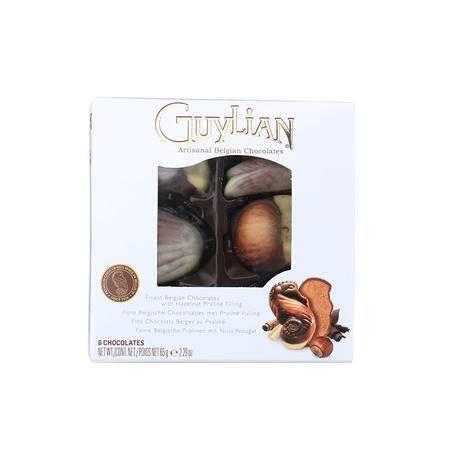 比利时吉利莲贝壳巧克力礼盒65G 世界上受青睐的巧克力