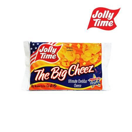 乔里/JOLLY TIME 干酪味 微波炉爆米花 100g 进口食品