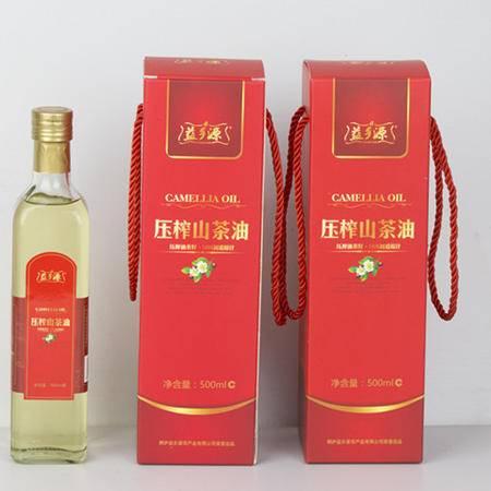 桐庐益乡源压榨山茶油百分百初道原汁油菜籽山茶油