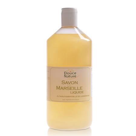 柔舒然 Douce Nature 原装进口马赛 沐浴 保湿 液体皂补充装1L