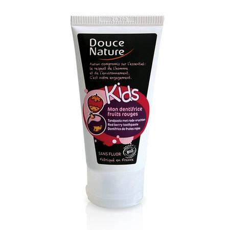 柔舒然Douce Nature 法国有机 无氟儿童牙膏果香型50ml