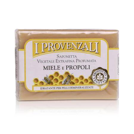 爱普罗雅丽IPROVENZALI 天然浪漫彩虹植物香水洁面 滋润美容皂蜂蜜100g