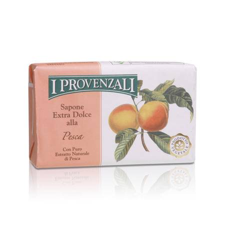 爱普罗雅丽I PROVENZALI 原装进口天然香甜水果洁面美容皂桃果150g