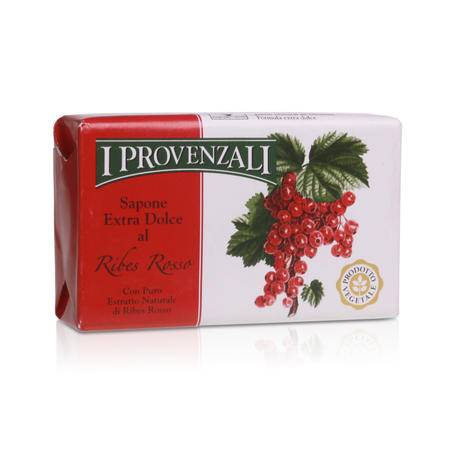 爱普罗雅丽I PROVENZALI 原装进口天然香甜水果洁面美容皂红醋栗150g