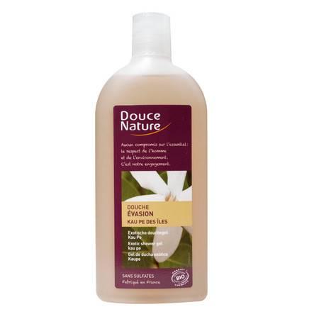 柔舒然Douce Nature 法国绿茶香柠檬舒缓滋润美肌沐浴乳沐浴露300ml 香草