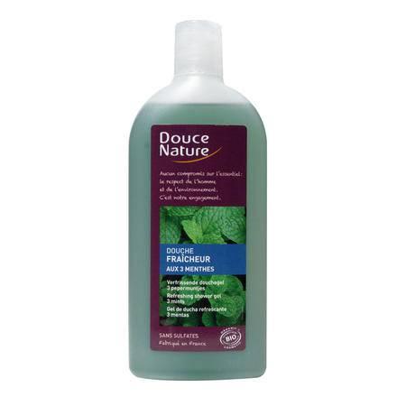 柔舒然Douce Nature 法国清新水果味沐浴露沐浴乳滋养保湿润肤300ml 薄荷