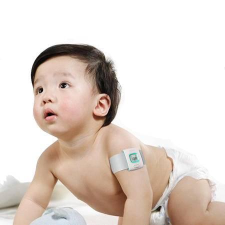 艾米娅 智能体温计儿童智能手环蓝牙测温表婴儿宝宝电子温度计腕带