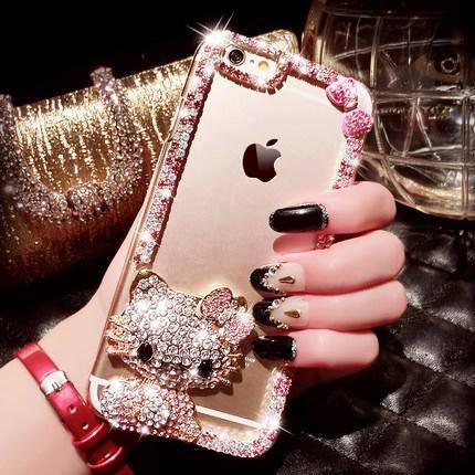 艾米娅 iPhone6手机壳4.7 苹果6plus手机壳硅胶奢华防摔6s保护套5.5潮女