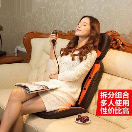 艾米娅 颈椎按摩器颈部腰部肩部按摩椅家用多功能枕全身靠垫椅垫