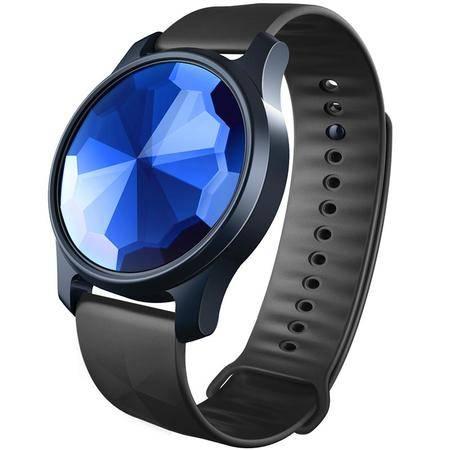 艾米娅 刷刷支付手环智能手表计步防水穿戴安卓IOS炫酷版蓝色