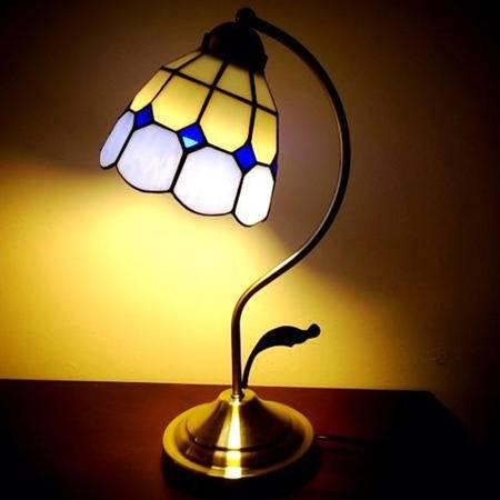 欧式简约灯具美式田园风格地中海卧室书房装饰床头护眼学习创意台灯