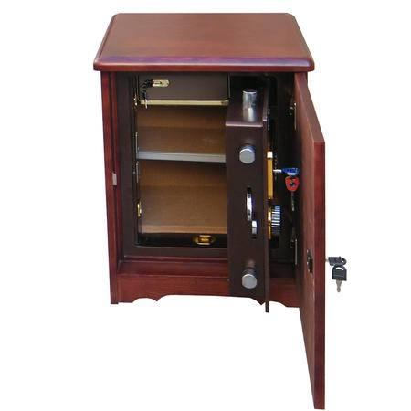 艾米娅 虎牌家用电子密码锁保险箱 3C床头式保险柜