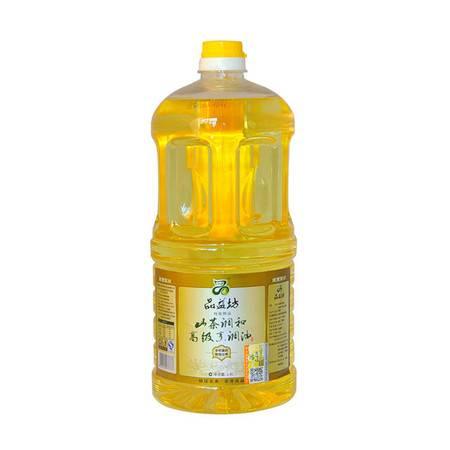 品益坊非转基因物理压榨 粮油食用山茶高级调和油食用油1.8L