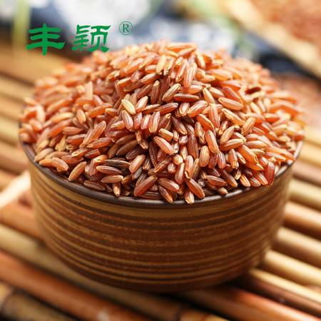 泰和红米粗粮长粒红糙米五谷杂粮1000g红稻米饭特产