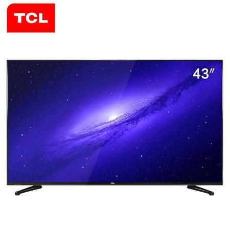 【江西农商】【可卖全国】TCL43E10 43英寸内置WiFi网络LED液晶电视机【四平电器旗舰店】