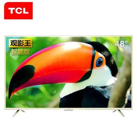 【江西农商】【可卖全国】TCL D48A810 48英寸  八核安卓智能电视机【四平电器旗舰店】