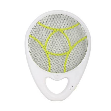 超人(SID)灭蚊拍 SI303 手持式灭蚊拍充电式电蚊拍带照明(白+绿