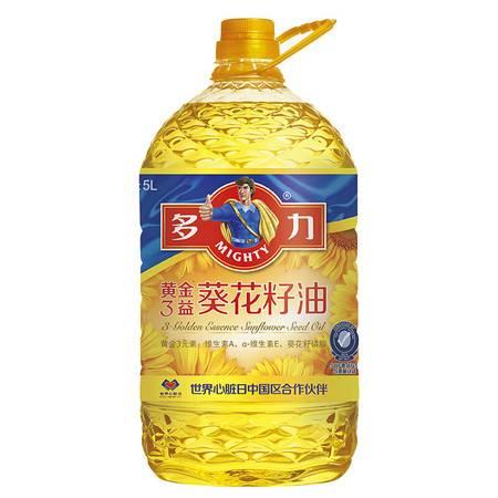 多力 黄金三益葵花籽油 5L