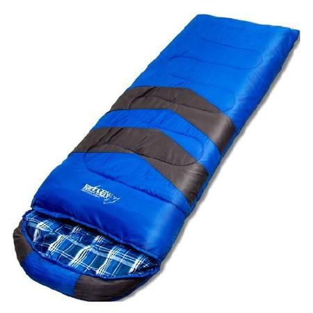 狼行者 防寒保暖加厚户外睡袋1.35kg家居款
