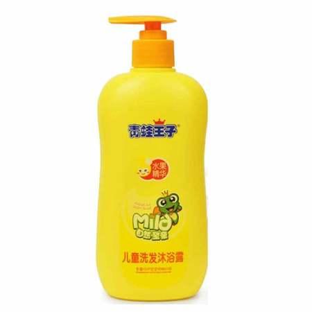 青蛙王子 儿童洗发沐浴露 水果精华 480ml