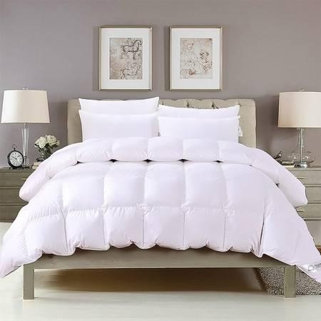 澳洲Downia 95%白鹅绒羽绒被冬季被子被芯五星级酒店品质白色 200*230CM 2530g