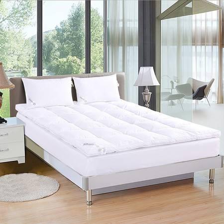 Downia羽绒床垫 5%鸭绒羽绒加厚床垫舒适五星级酒店床垫180