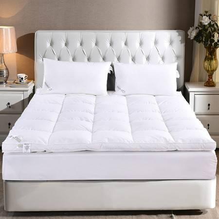 Downia羽绒床垫 5%鹅绒单层加厚床垫舒适蓬松五星级酒店床垫150