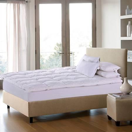 澳洲Downia 90%白鹅绒双层式羽绒床垫五星级酒店加厚羽绒床垫180*200+5CM 8200g