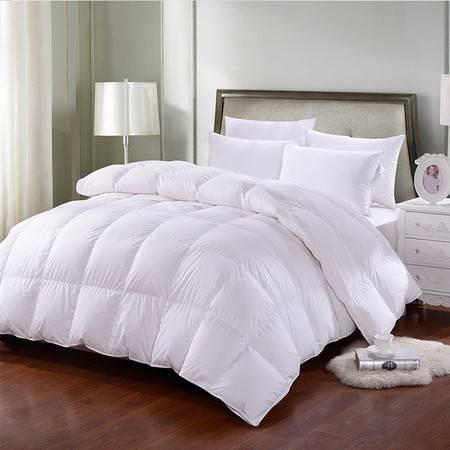 澳洲Downia 95%白鸭绒羽绒被外立体保暖冬季被子被芯200cm*230cm+3cm 2900g