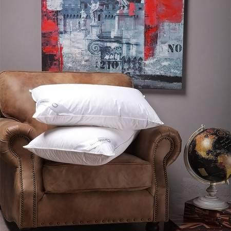 Downia羽绒枕头 90%奢华鹅绒枕头枕芯护颈椎羽绒枕JW万豪五星酒店枕正品