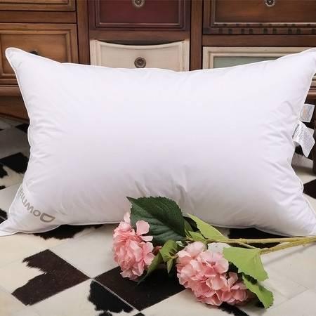Downia羽绒枕头 90%鸭绒枕头枕芯丽思卡尔顿同款羽绒颈椎枕正品