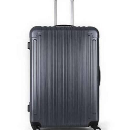 至新(Newest) 13PET124 蓝灰色PET材质时尚环保万向轮20英寸拉杆箱TSA海关密码锁