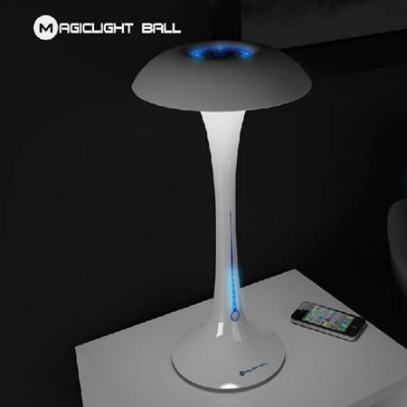 魔光球魔幻伞台灯 负离子光触媒高效净空气净化台灯