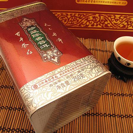 七彩云南 珍藏陈香普洱 250g  (熟茶) 普洱散茶