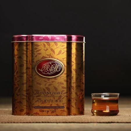 七彩云南月光金枝滇红红茶150g 香气高长红润透彻红茶珍品