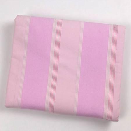 锦绣定然薄布三件套淡色粉红条纹