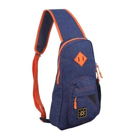 【仅限新乡地区销售】杉木山装西雅图胸包 B0163