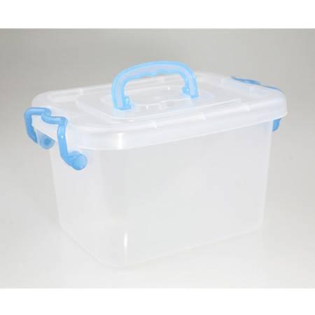 【仅限新乡地区销售】柳叶180手提收纳箱 透明药箱 塑料箱整理箱收纳杂物箱透明箱