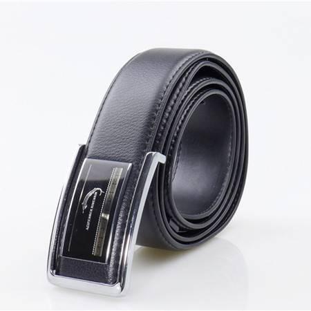 中华鲟盒装板扣皮带 男士真皮腰带 时尚韩版潮商务