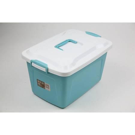 北京禧天龙储物箱6166 16L  衣服收纳箱塑料储物箱收纳盒儿童玩具整理箱