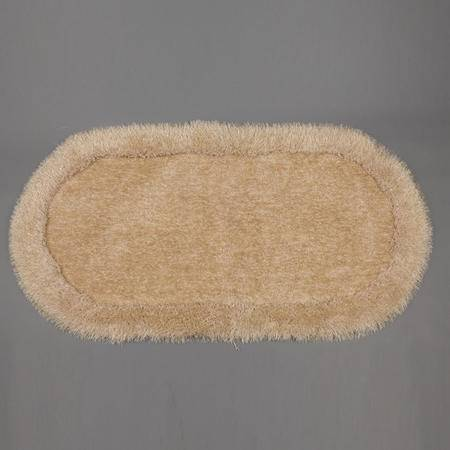 【仅限新乡地区销售】彩葵弹力绒床边毯0.8m*1.6m 亮丝客厅茶几地毯卧室床边地毯简约现代风格图