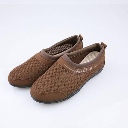 老北京布鞋 咖啡色 180004